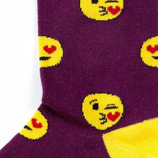 sosete cu emoji love, emoticons
